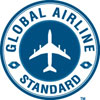 Global Airline Standard logo